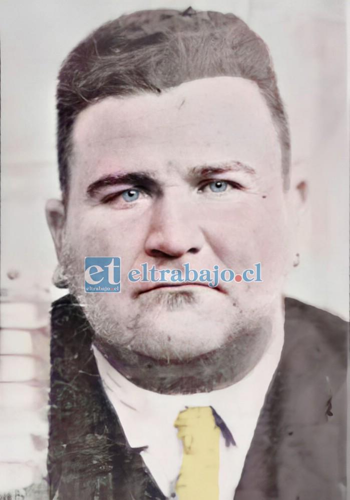 EL ASESINO.- Alberto Tucho Caldera, fusilado la mañana del jueves 6 de octubre de 1949.