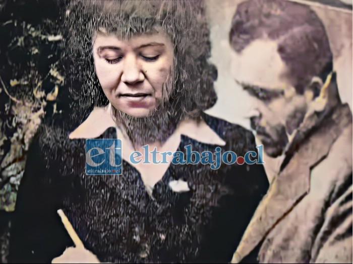 HIJA Y CÓMPLICE.- Rosa Elba Caldera, hija del Tucho, estaba coludida con su padre para guardar silencio sobre este macabro crimen.