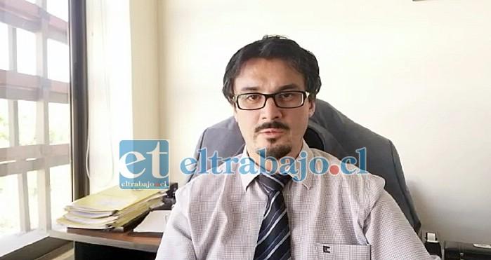Alejandro Bustos, fiscal a cargo del caso.