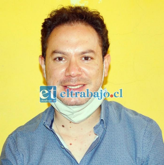 Francisco Quinzacara, coordinador operativo regional del INE.