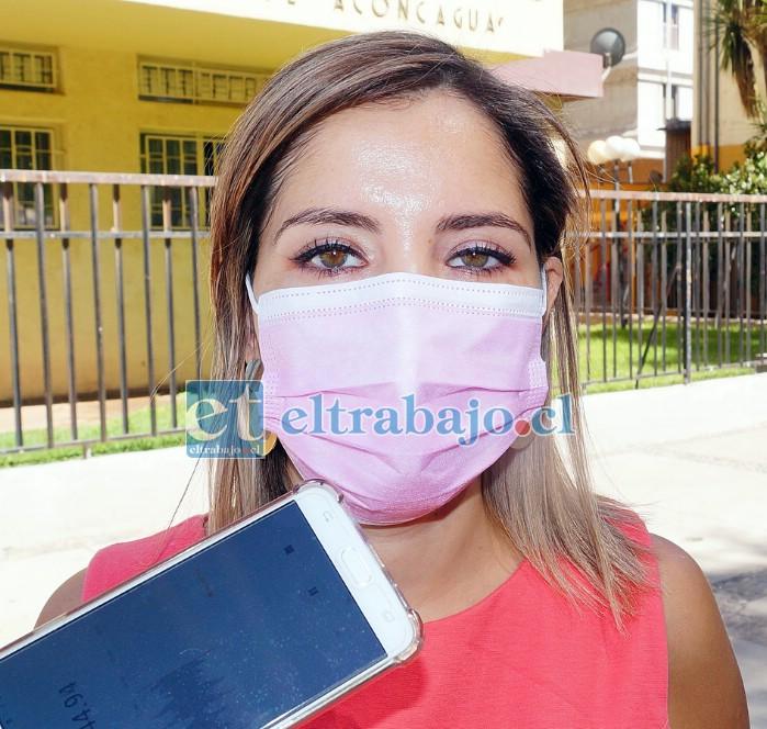 Susan Porras Fernández, directora del Servicio de Salud Aconcagua.