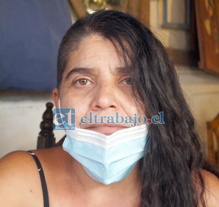 Alicia Cruz, esposa del tremendo 'Luchito' Araya.