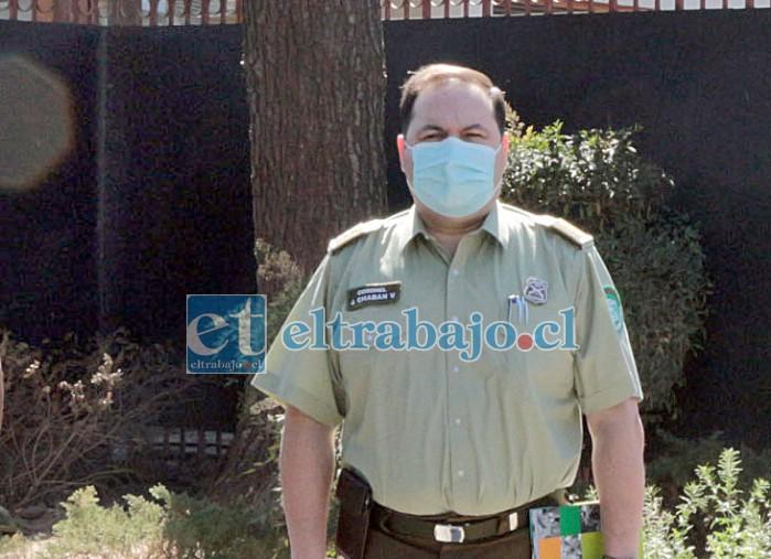 El prefecto de Aconcagua, coronel Jorge Chabán, confirmó la información señalando que al margen de la investigación judicial, la institución dispuso una investigación sumaria.