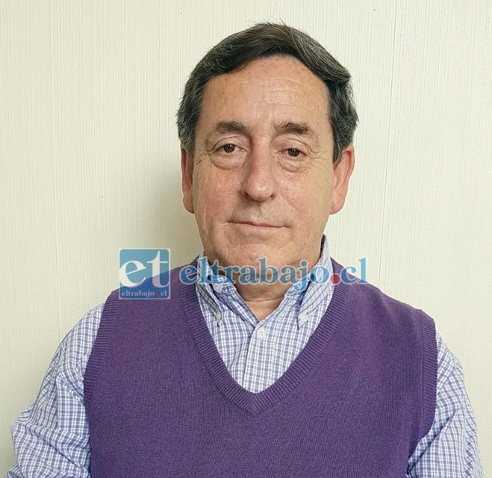 Profesor e investigador Magíster Gastón Gaete Coddou, académico aconcagüino (columnista de Diario El Trabajo).