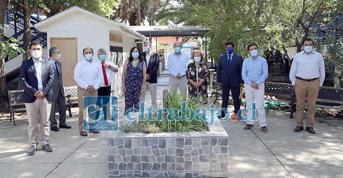 Autoridades destacaron el inicio de matrículas con 100 cupos para las carreras de Gestión de Empresas y Gestión Logística en el CFT Estatal de Los Andes.