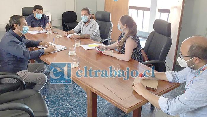 La tarde de ayer se reunió el Comité de Operaciones de Emergencia (COE) de Putaendo, adoptando diversas medidas que se implementarán ante el aumento de casos de coronavirus.