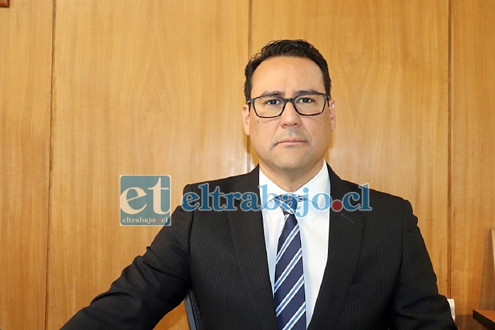 Eduardo Fajardo de la Cuba, fiscal jefe de San Felipe a cargo de la investigación.