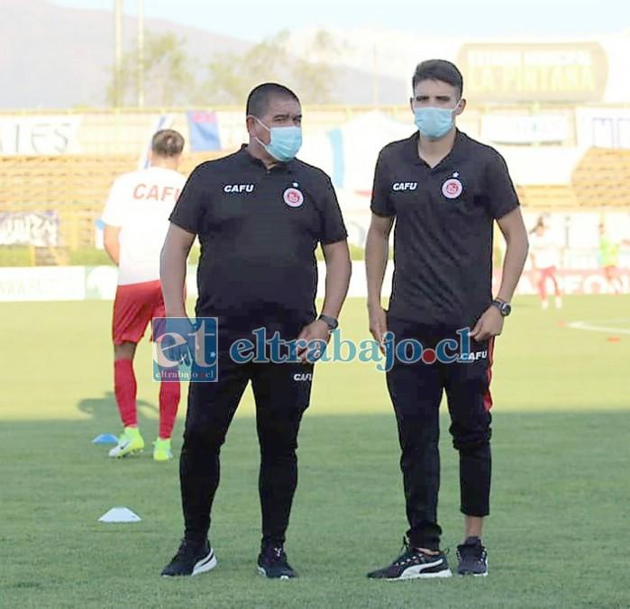 El ex central y ahora técnico reconoció que no ha sido notificado si seguirá a no al mando del primer equipo.