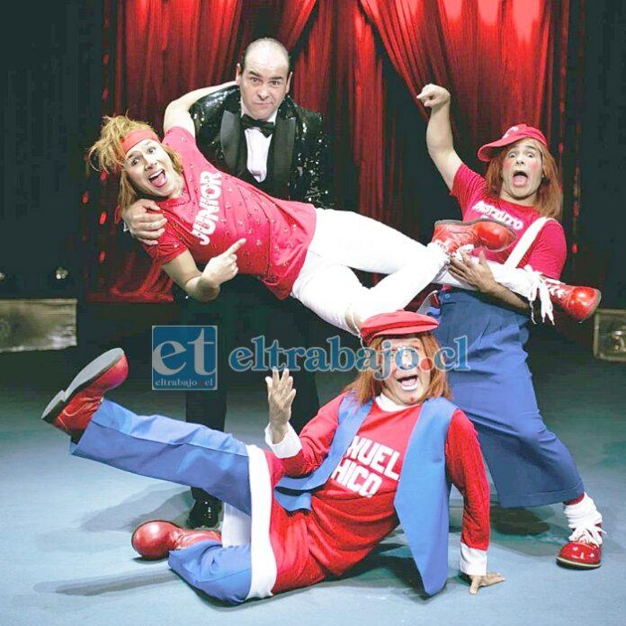 VAMOS AL CIRCO.- Aquí vemos a los artistas estelares del circo, el remedio perfecto para estos tiempos tan complejos.
