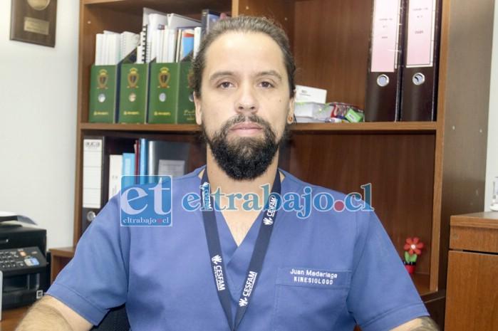 Director del Cesfam Valle de Los Libertadores de Putaendo, Juan Madariaga.