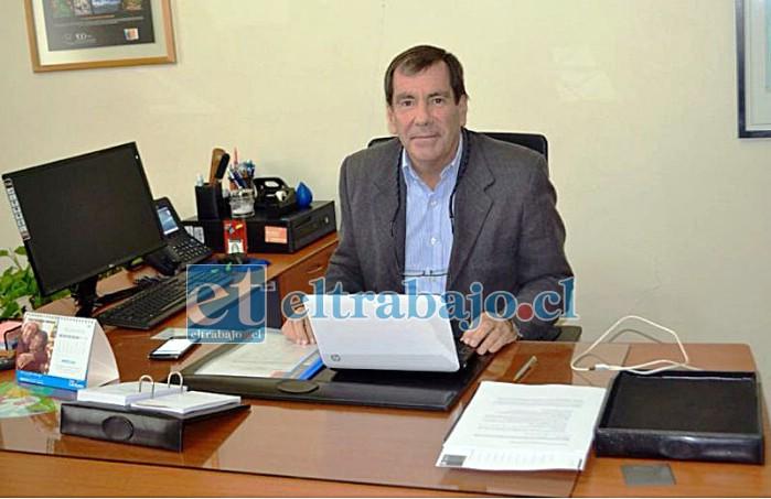 Humberto Lepe, Seremi de Agricultura Región Valparaíso.
