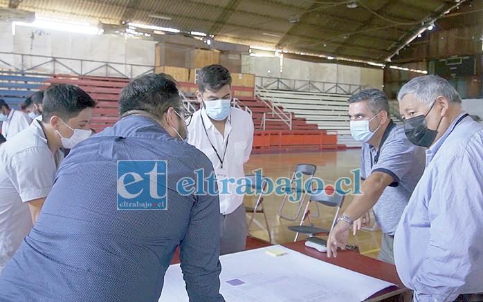 La cita final de este ciclo se realizó en el Fortín Prat, recinto al que acudieron miembros del directorio y clubes afiliados a la Asociación de Básquetbol Alejandro Rivadeneira.