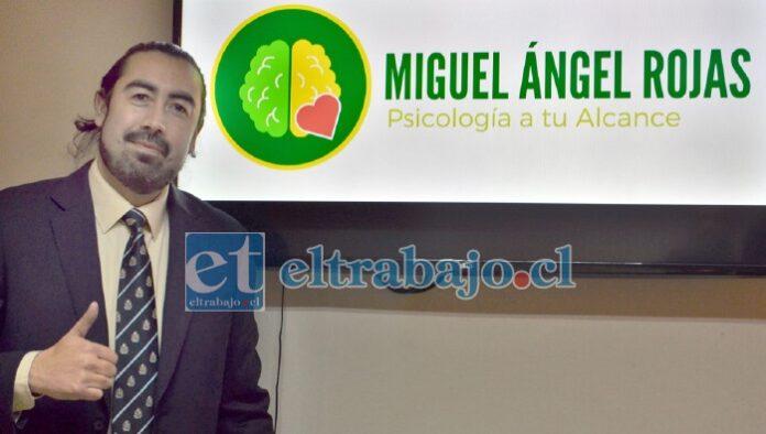 Miguel Ángel Rojas Pizarro, escritor y columnista en Diario El Trabajo.