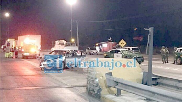 La imagen de archivo corresponde al 3 de marzo de 2020, cuando se registró el extraño accidente que terminó con la vida de Danilo Cárdenas.