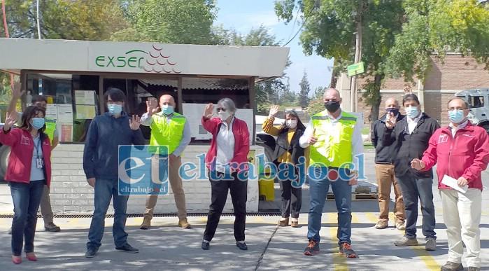 Diversas autoridades visitaron la empresa agrícola 'Exser' en la comuna de San Felipe, destacándola como un modelo a seguir en materia de inclusión en toda la región de Valparaíso.