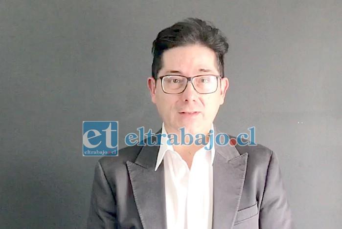 Fiscal Andrés Gallardo, fiscal a cargo del caso.
